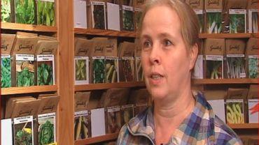 Catherine Andrianne, productrice de semences bio depuis 15 ans