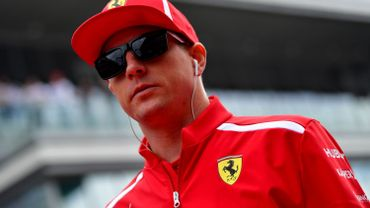 Räikkönen écope d'une amende en Suisse pour ... faute de conduite