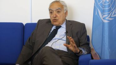 """""""Le pire à mes yeux serait une intervention militaire directe (étrangère) au profit des uns ou des autres"""", a déclaré Ghassan Salamé."""