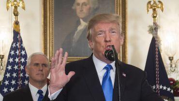 Donald Trump isolé sur la scène internationale après sa décision sur Jérusalem