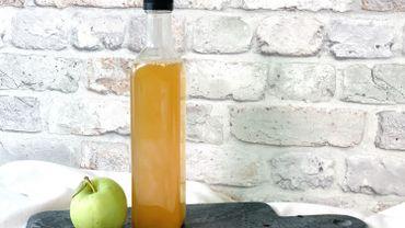La Cuisine de Leslie - Préparer du vinaigre de pommes