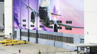 Un hangar de l'usine Boeing à Renton, le 20 avril 2020