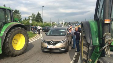 Le MIG avait lancé un appel aux éleveurs à se rendre en tracteurs à Libramont pour protester contre la politique agricole européenne.