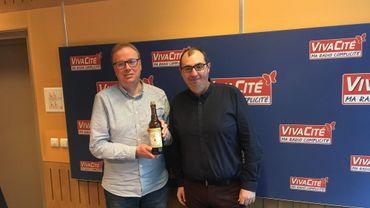 """Jean-Marc Decerf et Laurent Laforge ont gouté """"La Dorée du Mont des Frênes"""".."""