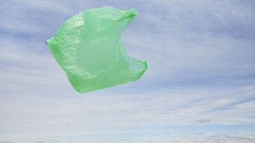 Illustration de sac plastique
