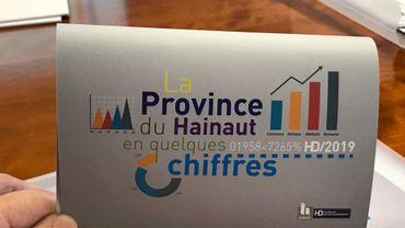 Les traditionnelles statistiques présentées par la province de Hainaut