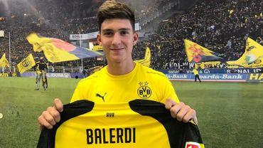 Le jeune Argentin Balerdi nouveau coéquipier d'Axel Witsel à Dortmund