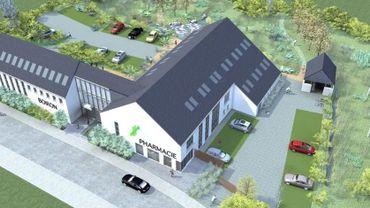 Pour faire accepter son nouveau projet, Boiron a réduit de deux tiers la surface de construction au sol.
