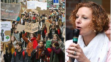 """Marie-Martine Schyns répond par cette annonce aux revendications des """"Marches pour le climat"""""""