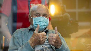 Jos Hermans : premier résident flamand sur la liste de vaccination