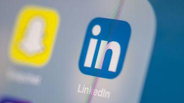 LinkedIn, qui appartient à Microsoft, fait partie des services numériques qui ont décollé pendant la pandémie, à la faveur des mesures de confinement et de l'explosion de l'utilisation des plateformes professionnelles ou de divertissement