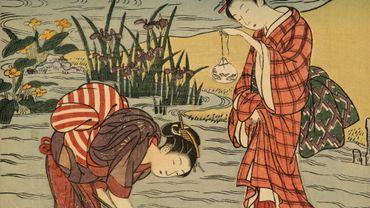 """Le Cinquantenaire se met à l'heure japonaise avec les """"images du monde flottant"""""""