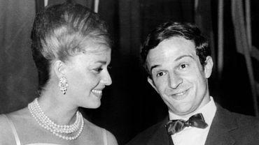 Jeanne Moreau et François Truffaut