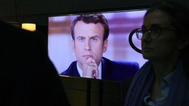 """Emmanuel Macron à Marine Le Pen: """"Laissez le général de Gaulle tranquille"""""""