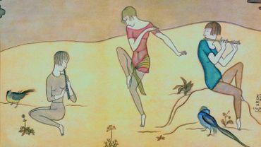 """""""La Danse"""" de Léonard Tsuguharu Foujita (1917)"""
