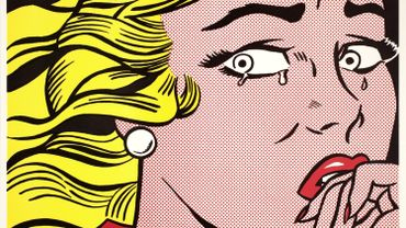 Roy Lichtenstein, Crying Girl, 1963 Lithographie offset sur papier vélin blanc cassé léger 45.8 x 61 cm