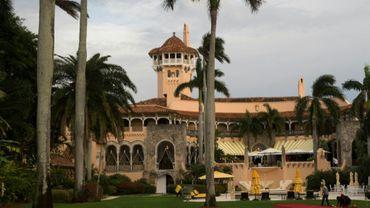 La résidence de Mar-a-Lago en Floride, le 30 décembre 2016