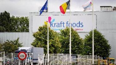 Kraft Foods: une centaine d'emplois menacés sur le site de Hal