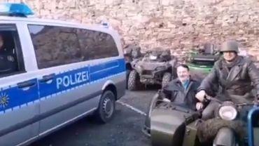 Polémique en Allemagne autour d'un sosie d'Hitler à moto (vidéo)