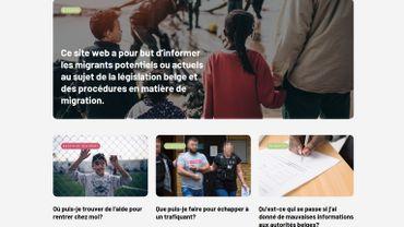 Une campagne pour dissuader les migrants de venir en Belgique