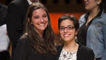 Deux Belges en finale du concours Reine Elisabeth 2014 : Sheva Tehoval et Jodie Devos
