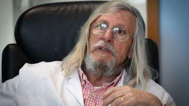 Le Pr Didier Raoult, de l'Institut Hospitalo-Universitaire (IHU) Méditerranée infection, le 26 février 2020 à Marseille