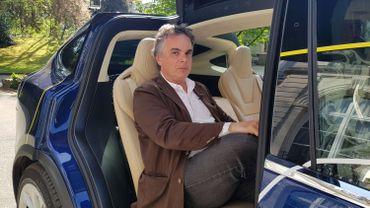 Alexandre Jardin  client du Taxi