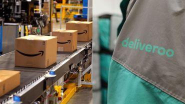 Amazon entre au capital du britannique Deliveroo