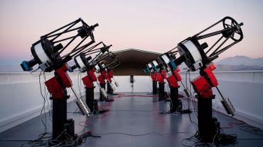 Un des instruments d'observation du projet MEarth