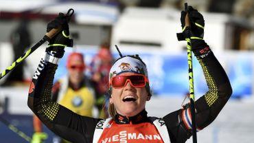 Coupe du monde de biathlon: Nadine Horchler remporte la 1ère victoire de sa carrière