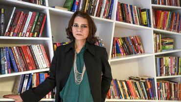 La romancière turque Asli Eerdogan, à Istanbul le 8 février 2017