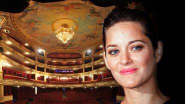 Marion Cotillard et Adam Driver tourneront prochainement un film à l'Opéra Royal de Wallonie