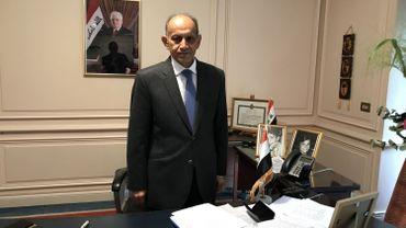 """Jawad al-Chlaihawi, ambassadeur d'Irak en Belgique: """"Il y a eu des dommages collatéraux provoqués par des avions belges."""""""