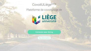 Plateforme CoVoituLiège