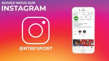 RTBFsport maintenant sur Instagram !