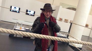 André Stas sur le ring au Cirque Divers