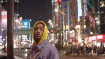 "Jaden Smith dans le clip de son morceau ""GOKU"""