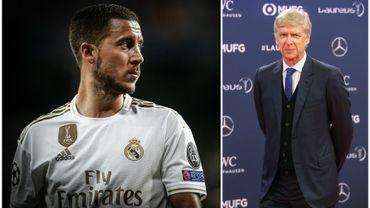 """Wenger: """"Hazard sera une star au Real, mais il ne comblera pas le vide laissé par CR7"""""""