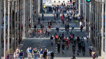 Dimanche sans voiture: 470.000 entrées dans le métro, 5% de plus que lors de l'édition 2018