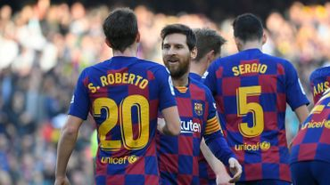Le Barça se fait peur mais dispose finalement de Getafe