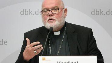 Le président de la conférence épiscopale, le cardinal Reinhard Marx, archevêque de Munich, le 25 septembre 2018 à Fulda