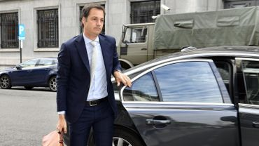 Le vice-Premier ministre Open Vld Alexander De Croo