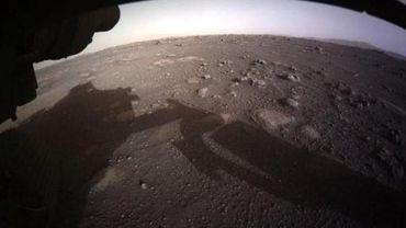 Le mini-hélicopètre Ingenuity s'est signalé pour la première fois depuis Mars