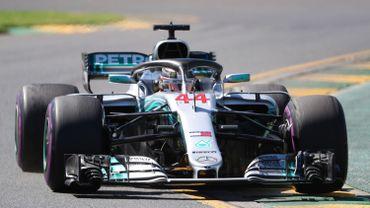 Hamilton le plus rapide aux 1ers essais libres en Australie