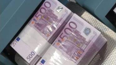 Dossiers de blanchiment d'argent (image d'illustration)