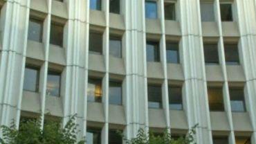 Les locaux de la police judiciaire où a eu lieu la confrontation entre Dominique Strauss-Kahn et Tristane Banon