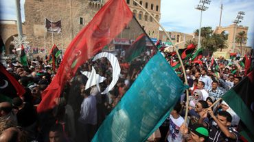 Scènes de joie en Libye
