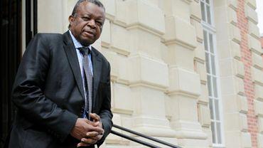 Le directeur de l'Institut national de recherche biomédicale (INRB), Jean-Jacques Muyembe de la République démocratique du Congo, le 28 mai 2015 à Paris