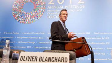Olivier Blanchard explique que les calculs du FMI sous-estiment les effets négatifs des mesures d'austérité réclamées aux états les plus endettés.