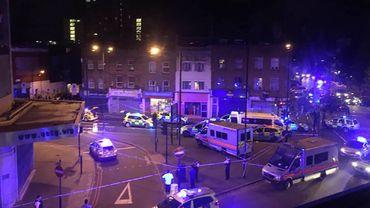 """Londres: les piétons renversés, des fidèles musulmans visés """"intentionnellement"""" à la sortie de la mosquée"""